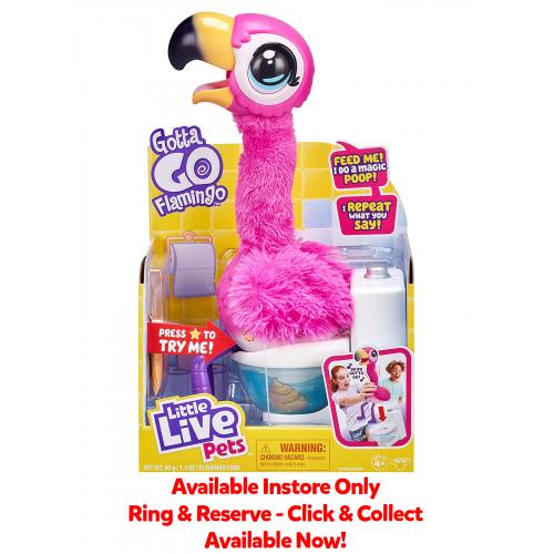 Gotta GO Flamingo (Available Instore)